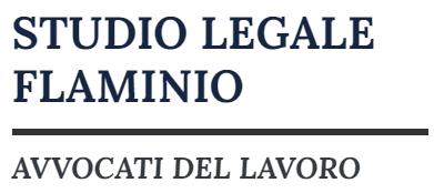 Avvocato Lavoro Roma